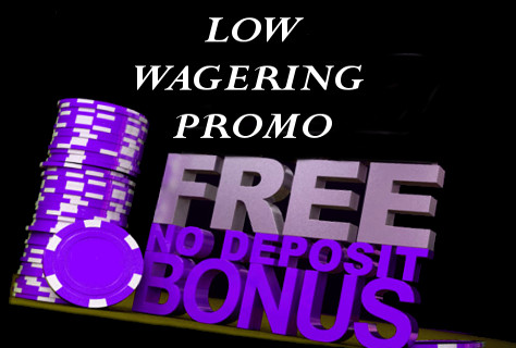 Casino Bonus with Low Wagering